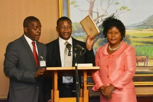 Malison accepting Ministor of Transport Position