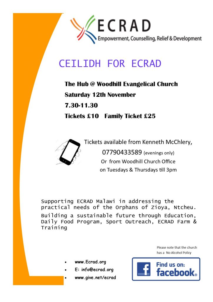 ECRAD Ceilidh Invite